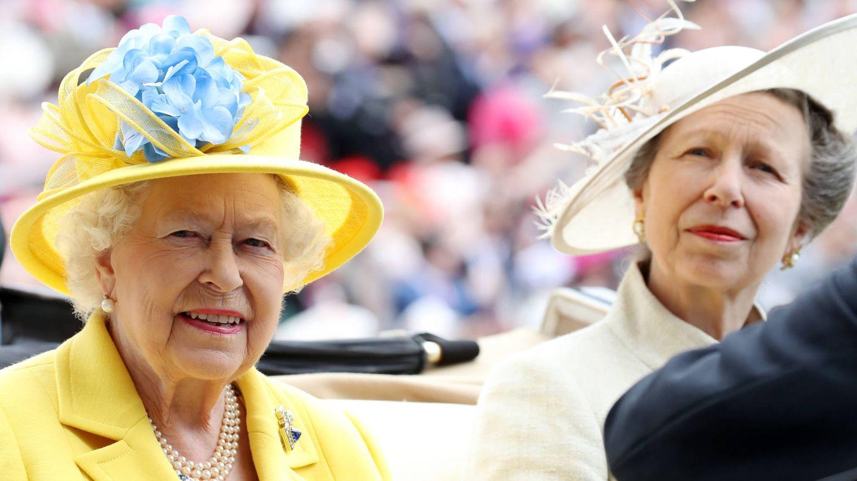 La princesa y su madre en Ascot. (Getty)