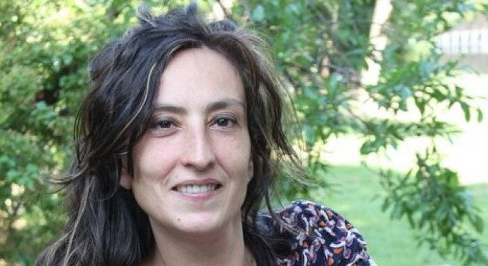 Foto: La periodista parlamentaria Montse Oliva.