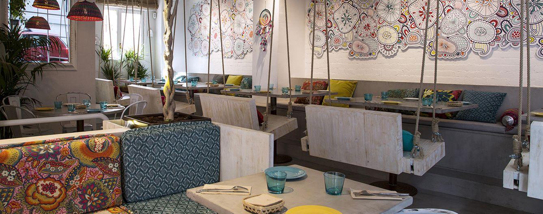 Foto: Imagen del interior del restaurante Boho Bar (Foto: Cortesía)