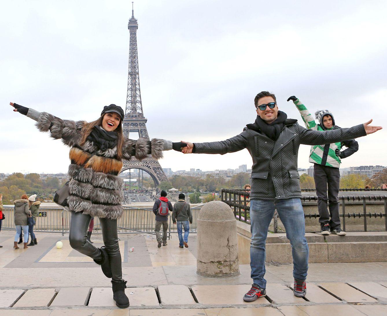 David y Paula en París a finales de 2013