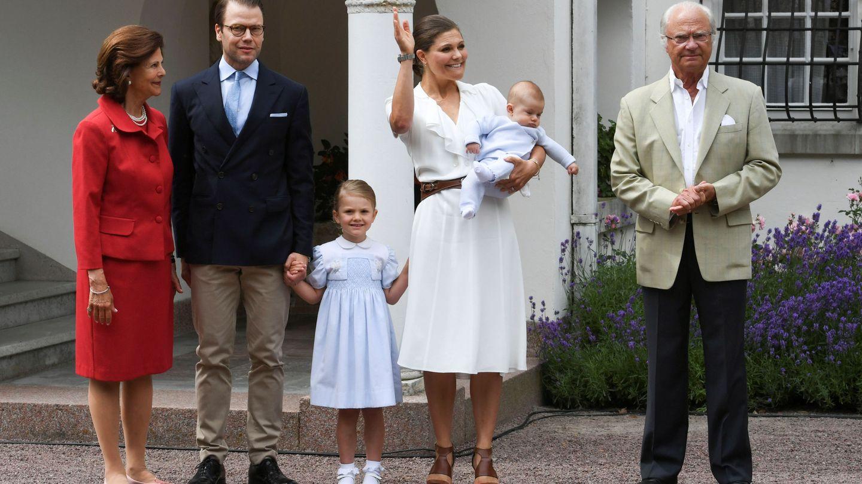 Celebración del 38º cumpleaños de la princesa Victoria en Solliden. (Reuters)