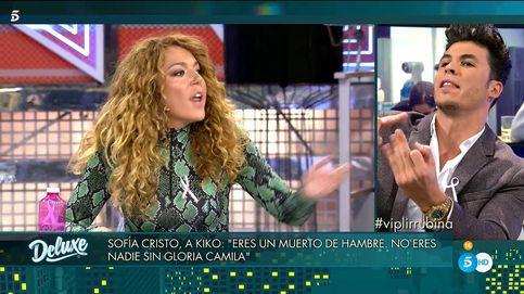 'Deluxe' | Sofía Cristo entra en cólera contra Kiko Jiménez: Muerto de hambre
