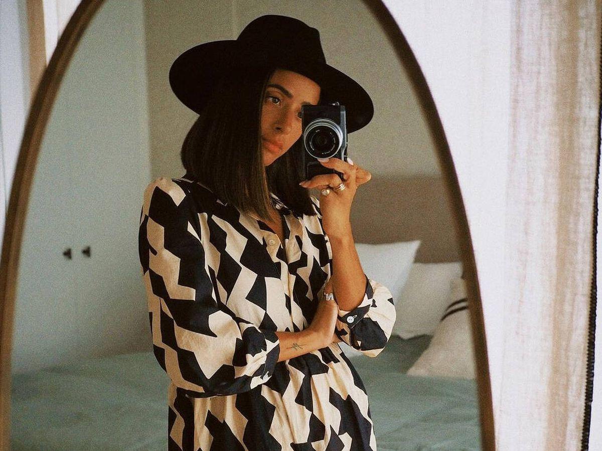 Foto: La influencer María F. Rubíes posa con un espectacular vestido de Zara. (Instagram @mariafrubies)