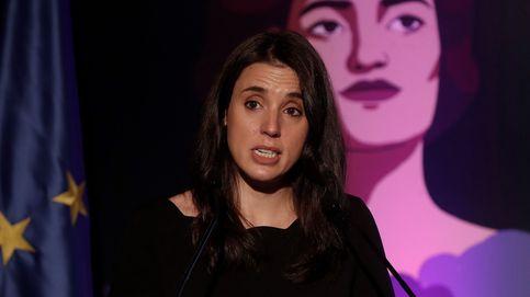 Irene Montero llama entre lágrimas a la unidad del feminismo