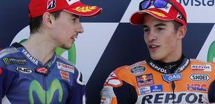 Post de El planteamiento de Marc Márquez y cómo Jorge Lorenzo juega al despiste en MotoGP