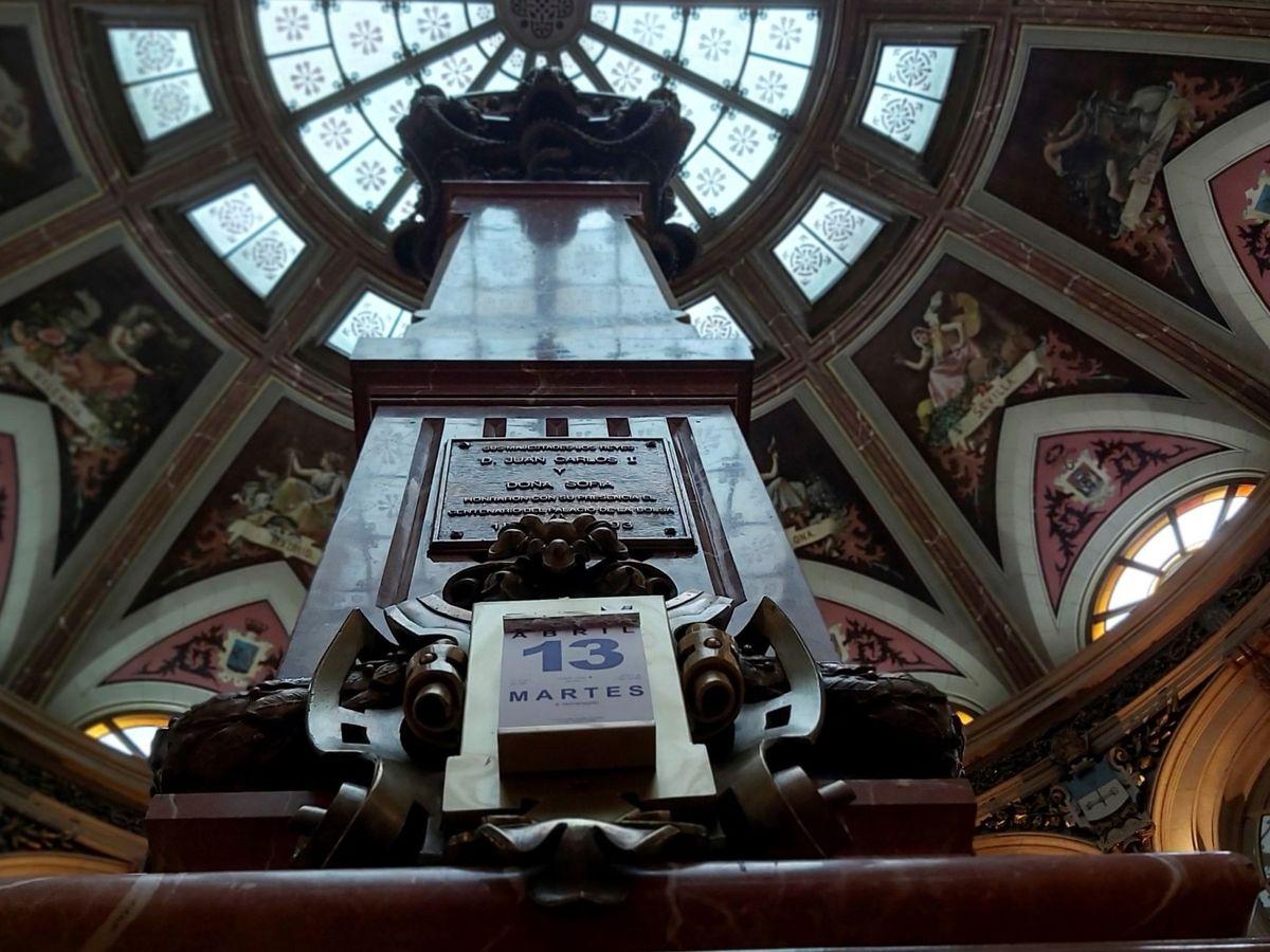 Foto: Vista del parqué madrileño de la Bolsa. (EFE)