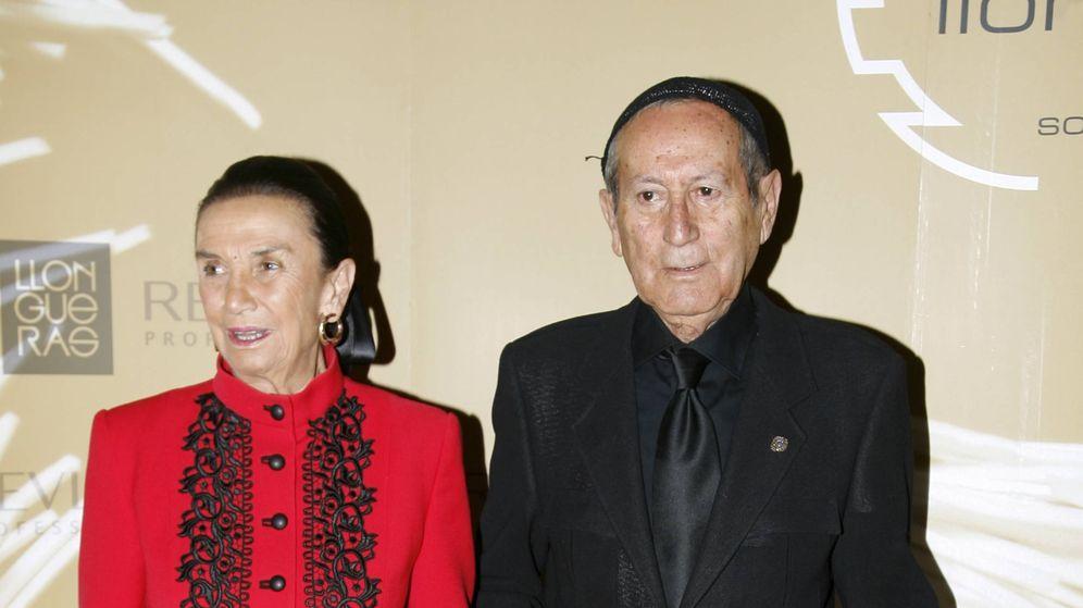 Foto: Berhanyer junto a la condesa de Montarco. (Cordon Press)