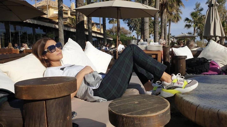 La actriz Paula Echevarría en Marbella.