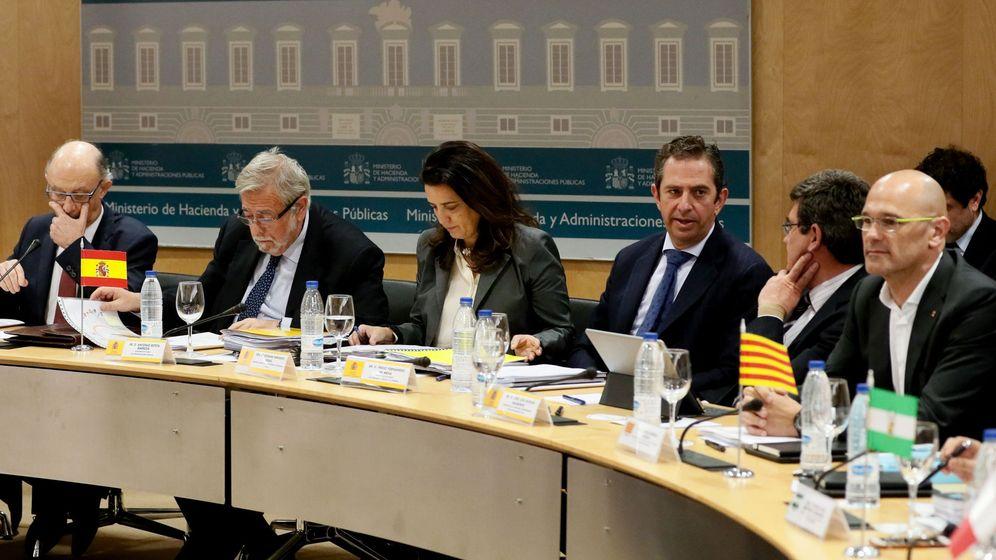 Foto: Consejo de Política Fiscal y Financiera. (EFE)