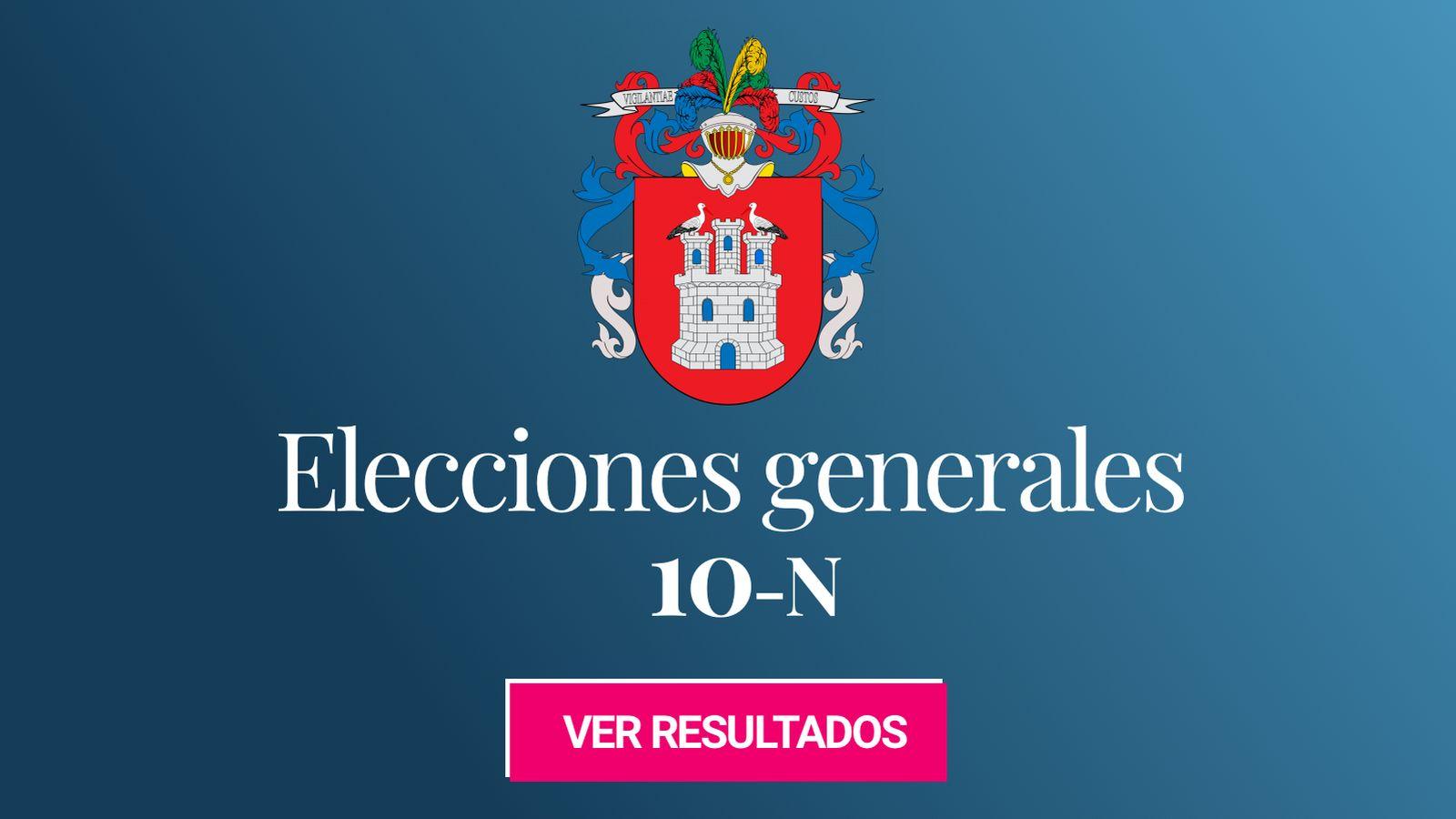 Foto: Elecciones generales 2019 en Irun. (C.C./EC)