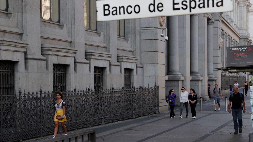 Foto: Fachada de la sede del Banco de España, en Madrid. (EFE)