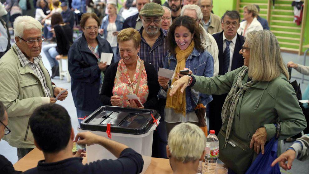Los partidarios de un referéndum sobre Cataluña en toda España son mayoría
