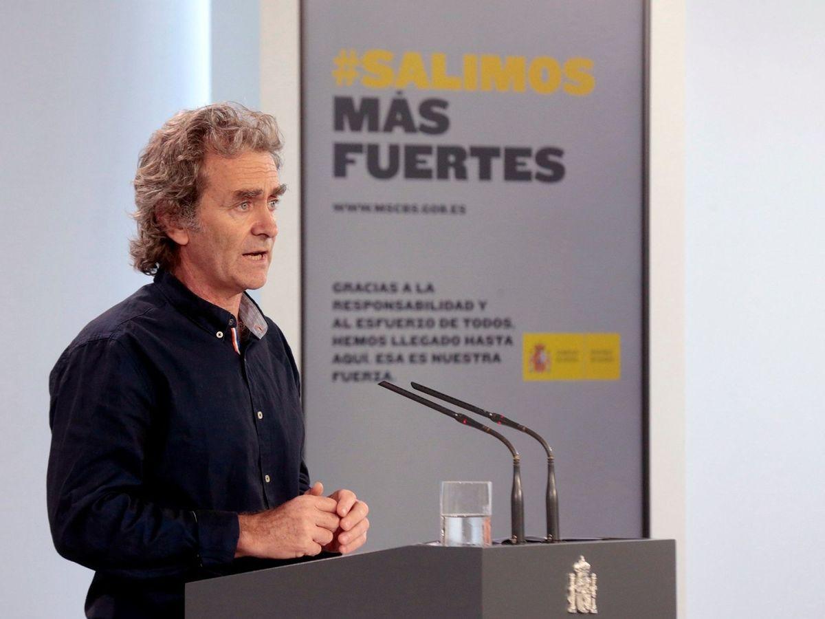 Foto: El director del Centro de Alertas y Emergencias Sanitarias, Fernando Simón. (EFE)