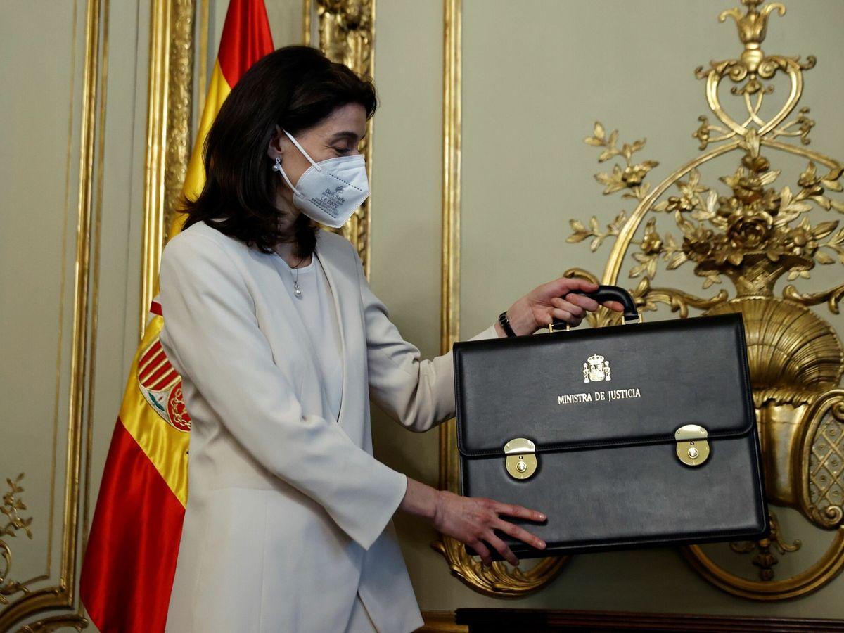 Foto: La nueva ministra de Justicia, Pilar Llop. (EFE)