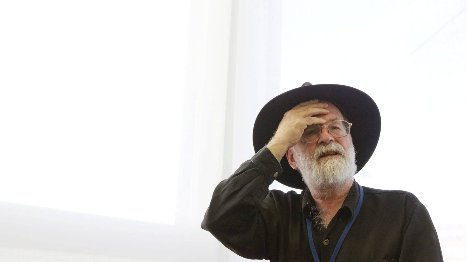 Foto: El escritor británico Terry Prachet ha muerto a los 66 años (EFE)