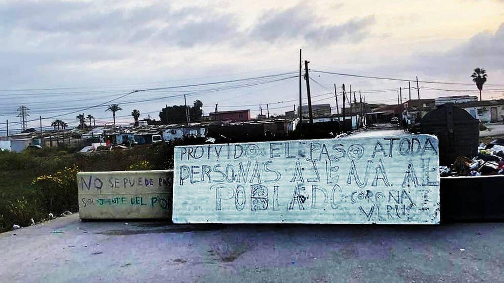 Cañada Real, sector 6: Hay mucha gente en la calle, niños... Necesitamos al Ejército
