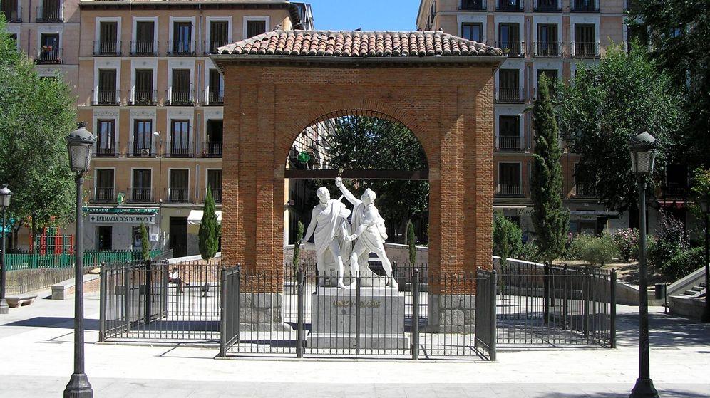 Foto: Monumento a Daoiz y Velarde en la plaza del Dos de Mayo de Madrid