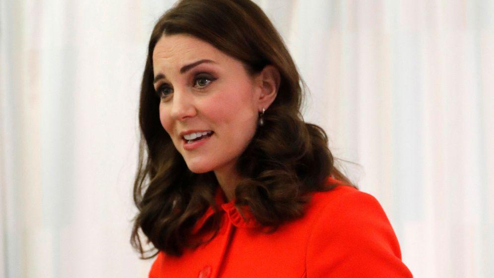 Foto: La duquesa de Cambridge en el hospital Great Ormond Street. (Reuters)
