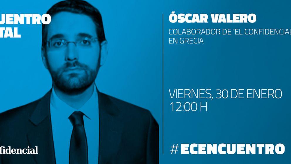 Encuentro digital con Óscar Valero, desde Grecia