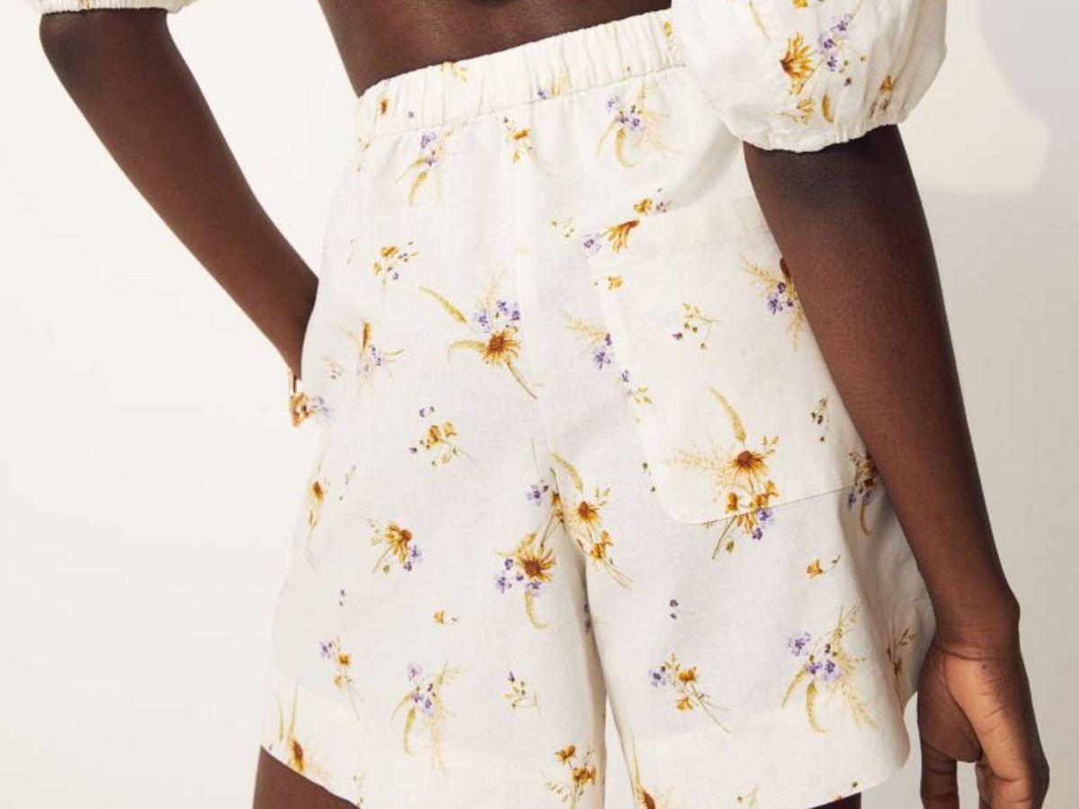 Foto: El pantalón corto de HyM. (Cortesía)