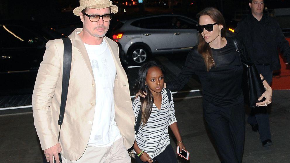 Drama para Angelina Jolie: su hija quiere irse con su verdadera madre