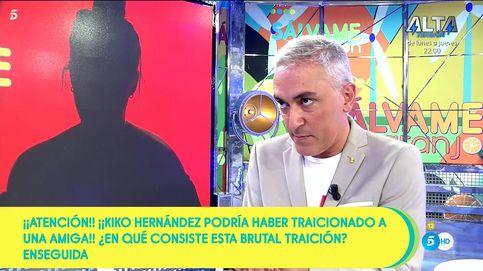 'Sálvame' usa a Kiko Hernández a la hora de 'Tierra amarga' para airear su traición