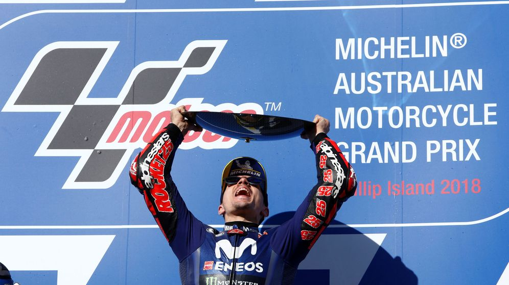Foto: Maverick Viñales no ganaba una carrera desde mayo de 2017 en Le Mans. (Reuters)