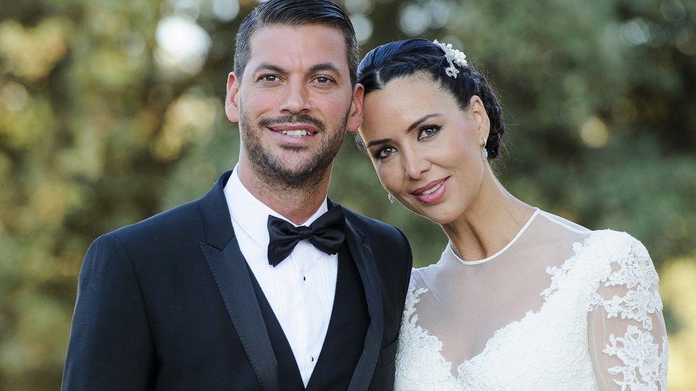 Foto: René y Vania el día de su boda (Gtres)