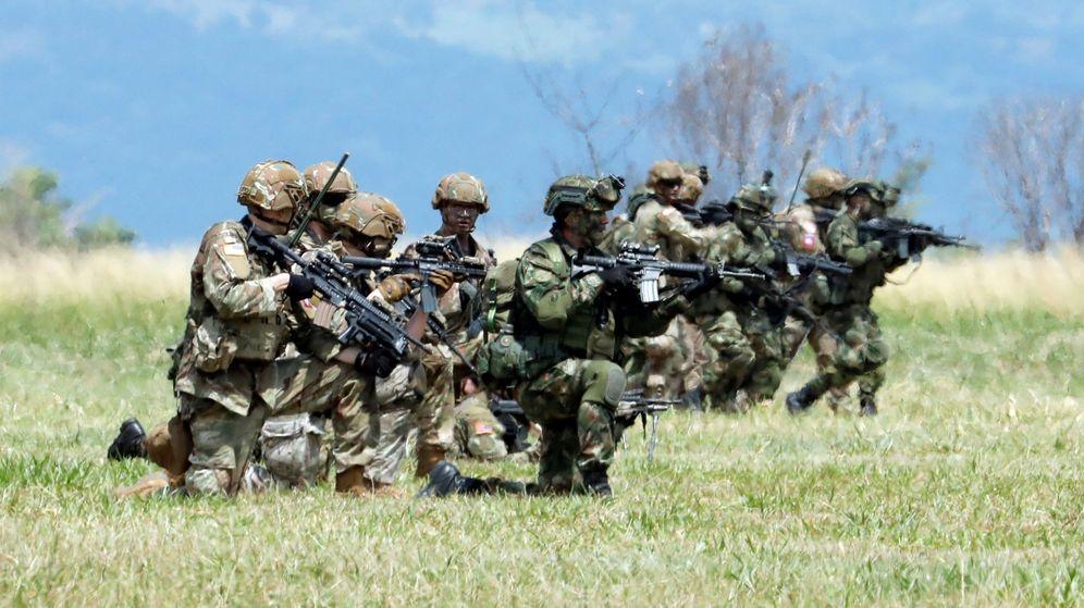 Foto: La intención del soldado traidor era que aniquilaran a su propia unidad en una emboscada (EFE/Mauricio Dueñas)