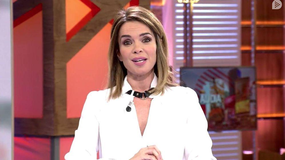 Foto: La presentadora Carme Chaparro. (Mediaset)