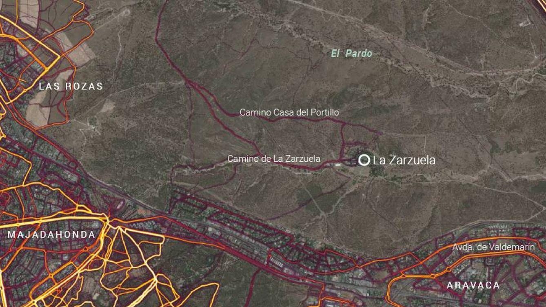 Fallo de ciberseguridad en Palacio: Strava revela las rutas de 'running' en La Zarzuela