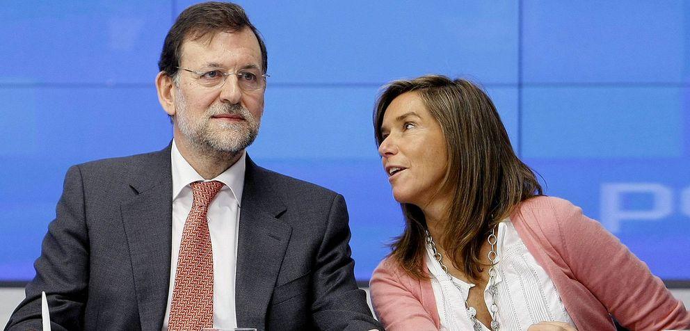 Foto: Fotografía de archivo de Mariano Rajoy y Ana Mato (EFE)