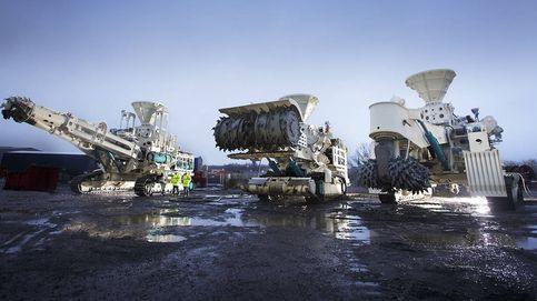 El ejército de máquinas que mina el fondo del mar