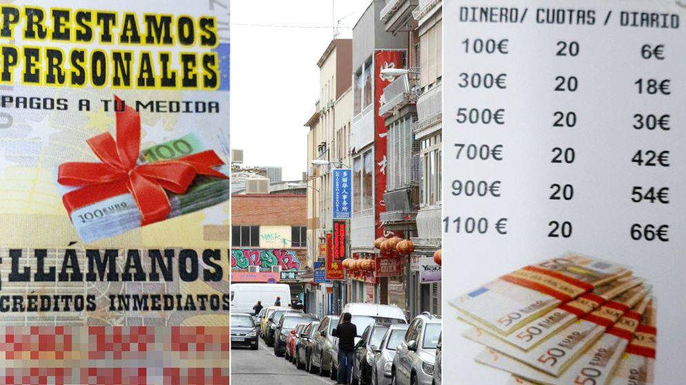 Usura en Usera: préstamos para tenderos al 20% en el barrio chino de Madrid