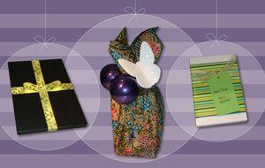 Tres ideas rápidas y originales para empaquetar tus regalos