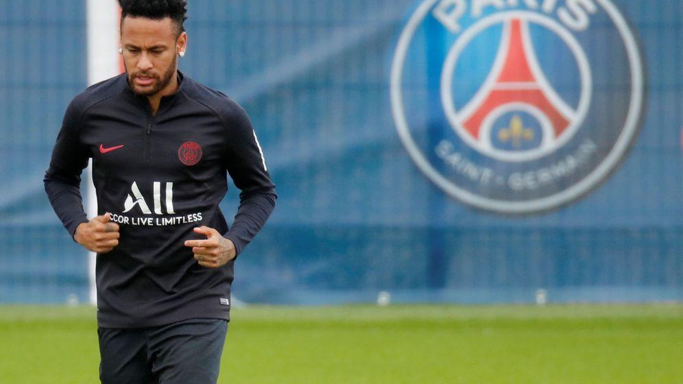 Foto: Neymar en un entrenamiento con el PSG. (Reuters)