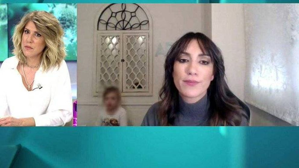 Una hija de Patricia Pardo irrumpe en su conexión con AR: ¡Sal de aquí, cariño!