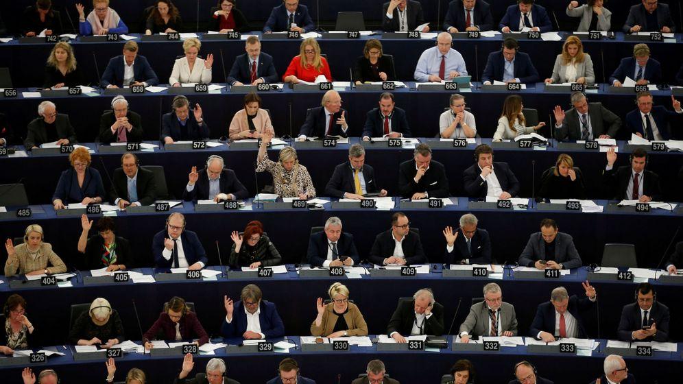 Foto: Pleno del Parlamento Europeo en Estrasburgo. (Reuters)