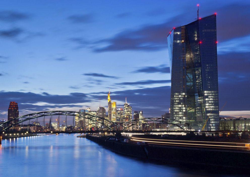 Foto: Fachada de cristal de la nueva sede del Banco Central Europeo. (EFE)