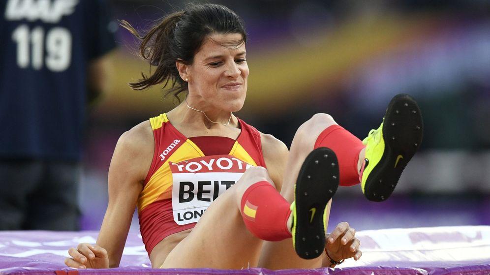 Foto: Beitia, la mejor atleta española, ha tenido un mal año (EFE)