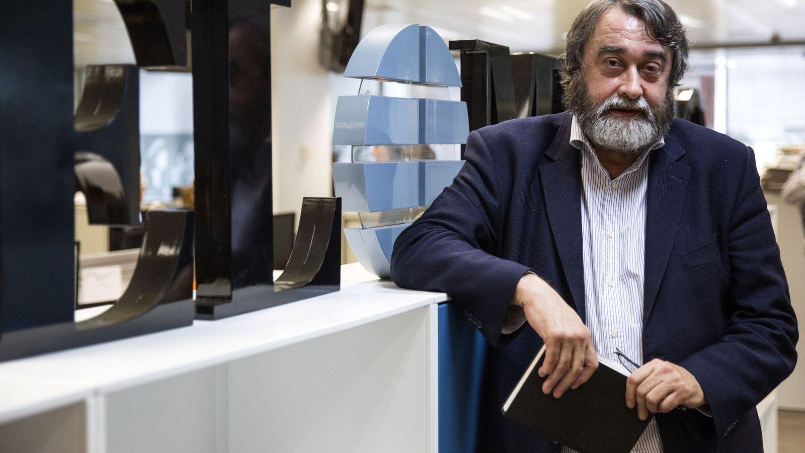Foto: Pedro García Cuartango asume la dirección de 'El Mundo' de forma temporal. (EC)