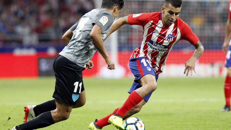 Ángel Correa asistió a Griezmann en el gol. (EFE)