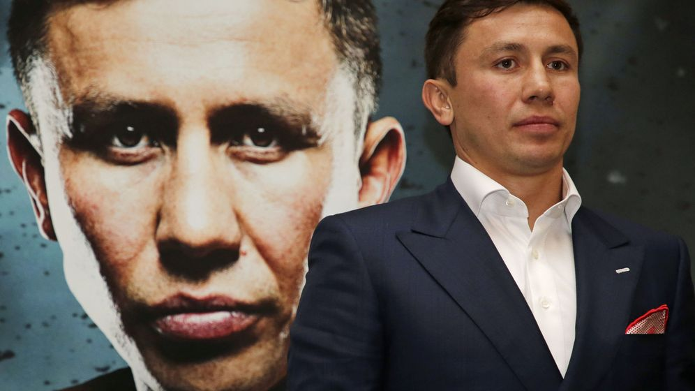 Foto: Golovkin ostenta 33 KO en 38 combates profesionales. (Reuters)
