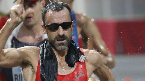 El sufrimiento de García Bragado en el Mundial de Doha (y cómo chupó cámara al final)