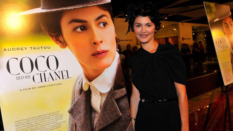 Audrey Tautou protagonizó un biopic de Coco Chanel (Getty).