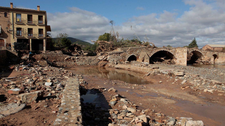 Encuentran restos humanos en Tarragona en las búsquedas tras las lluvias