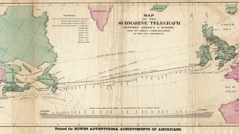 Cuando no existía internet: los cables que comunicaron América y Europa