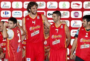 Garbajosa fue la nota más positiva en la presentación de España para el Eurobásket