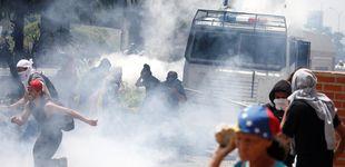 Post de Disturbios en Caracas durante una nueva marcha opositora