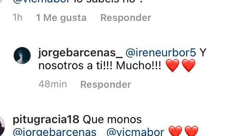 Los mensajes de Irene Urdangarin y Jorge Bárcenas.